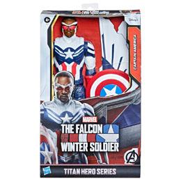 Photo du produit Marvel Falcon and the Winter Soldier Captain America titan figure 30cm Photo 1