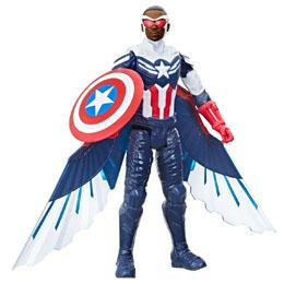 Photo du produit Marvel Falcon and the Winter Soldier Captain America titan figure 30cm Photo 3