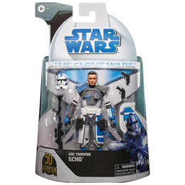 Figurine Arc Trooper Echo Star Wars The Clone Wars 15cm