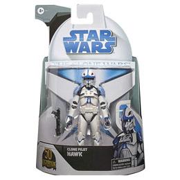 Figurine Clone Pilot Hawk Star Wars The Clone Wars 15cm