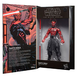 FIGURINE HASBRO DARTH MAUL STAR WARS THE BLACK SERIES 15CM