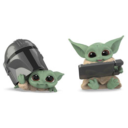 PACK 2 FIGURINES YODA THE CHILD THE MANDALORIAN STAR WARS PACK C