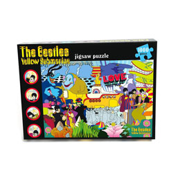 THE BEATLES PUZZLE YELLOW SUBMARINE
