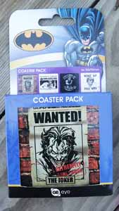 Photo du produit COFFRET DE 4 SOUS VERRES DC COMICS THE JOKER Photo 1