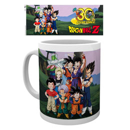 DRAGON BALL Z MUG 30TH ANIVERSARY
