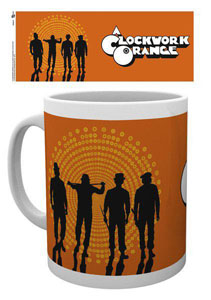 ORANGE MÉCANIQUE MUG SILHOUETTES