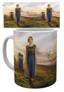 DOCTOR WHO MUG 13TH DOCTOR