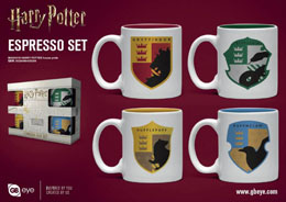 HARRY POTTER PACK 4 TASSES ESPRESSO HOUSE PRIDE
