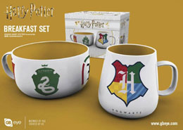 HARRY POTTER SET PETIT-DÉJEUNER HOUSE PRIDE