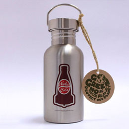 FALLOUT BOUTEILLE METAL NUKA COLA