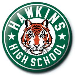 BADGE HAWKINS HIGH SCHOOL STRANGER THINGS