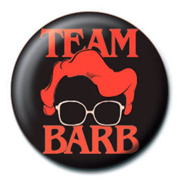 BADGE TEAM BARB STRANGER THINGS