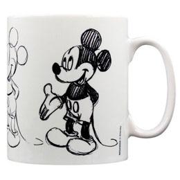 Mickey Mouse mug Sketch Process