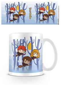 HARRY POTTER MUG KAWAII FLYING