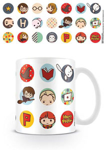HARRY POTTER MUG KAWAII CIRCLES