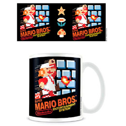 Super Mario Bros. Mug NES Cover
