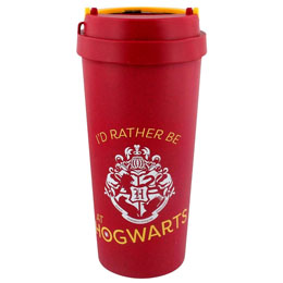 HARRY POTTER MUG DE VOYAGE ECO (BIOPLASTIQUE) RATHER BE AT HOGWARTS
