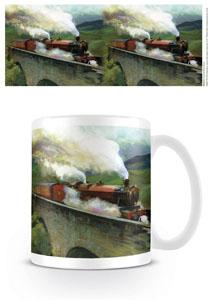 Harry Potter mug Hogwarts Express Landscape