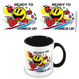 PAC-MAN MUG COLOURED INNER POWER UP