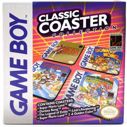Photo du produit Gameboy pack 4 sous-verres Classic Collection Photo 1