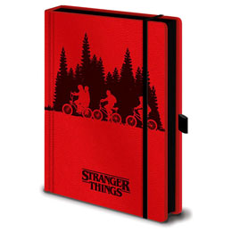 STRANGER THINGS CARNET DE NOTES PREMIUM A5 UPSIDE DOWN