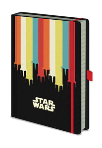 STAR WARS CARNET DE NOTES PREMIUM A5 NOSTALGIA