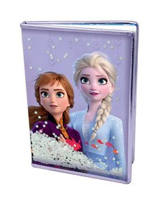 LA REINE DES NEIGES 2 CARNET DE NOTES PREMIUM A5 SNOW SPARKLES