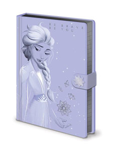 LA REINE DES NEIGES 2 CARNET DE NOTES PREMIUM A5 LILAC SNOW