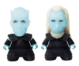 PACK 2 FIGURINES VINYL TITANS NIGHT KING & WHITE WALKER NYCC 2017