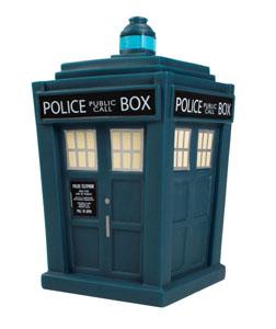 DOCTOR WHO FIGURINE VINYL TITANS 13TH DOCTOR TARDIS NYCC 2018 EXCLUSIVE 16 CM