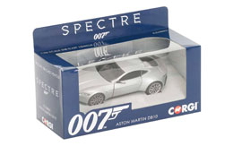 Photo du produit JAMES BOND 1/36 ASTON MARTIN DB10 MÉTAL Photo 1