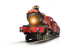 HARRY POTTER TRAIN ÉLECTRIQUE 1/76 HOGWARTS EXPRESS