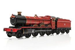 HARRY POTTER 1/100 HOGWARTS EXPRESS METAL