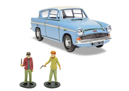 HARRY POTTER 1/43 FORD ANGLIA METAL