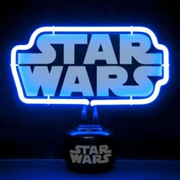 Photo du produit STAR WARS LAMPE NEON LOGO 25 X 21 CM Photo 2