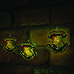 Photo du produit HARRY POTTER LUMIERES DE NOEL HOGWARTS CRESTS Photo 2