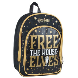 SAC À DOS HARRY POTTER DOBBY FREE THE HOUSE ELVES 38CM