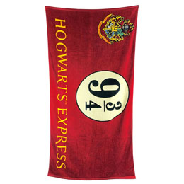 SERVIETTE DE BAIN HOGWARTS EXPRESS 9 3/4 HARRY POTTER