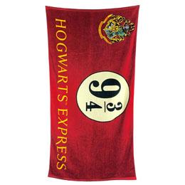 SERVIETTE DE BAIN HOGWARTS EXPRESS 9 3/4 HARRY POTTER