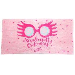 SERVIETTE DE PLAGE LUNA LOVEGOOD HARRY POTTER