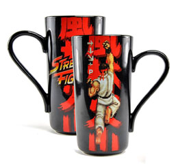 MUG STREET FIGHTER LATTE-MACCHIATO RYU