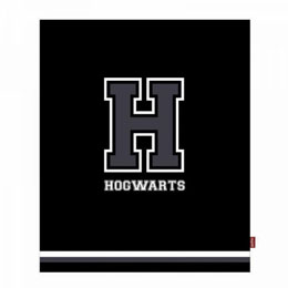 HARRY POTTER COUVERTURE H FOR HOGWARTS 125 X 150 CM