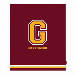 HARRY POTTER COUVERTURE G FOR GRYFFINDOR 125 X 150 CM