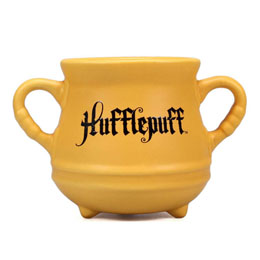 HARRY POTTER MUG 3D CAULDRON HUFFLEPUFF