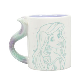 DISNEY LA PETITE SIRENE ARIEL MUG SHAPED FLIPPIN AWESOME