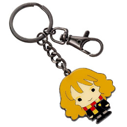 HARRY POTTER PORTE-CLES PLAQUÉ ARGENT CUTIE COLLECTION HERMIONE GRANGER