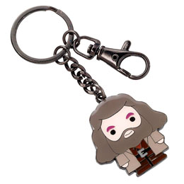HARRY POTTER PORTE-CLÉS PLAQUÉ ARGENT CUTIE COLLECTION HAGRID
