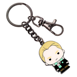 HARRY POTTER PORTE-CLÉS PLAQUÉ ARGENT CUTIE COLLECTION DRACO MALFOY
