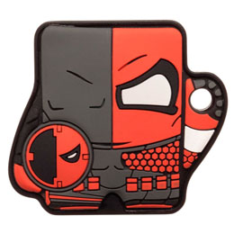 DC COMICS PORTE-CLE FOUNDMI BLUETOOTH DEATHSTROKE 4 CM