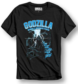 GODZILLA T-SHIRT KING OF THE MONSTERS